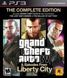 Grand Theft Auto IV -- The Complete Edition (PlayStation 3)